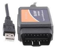 V1.5 ELM327 OBD2 OBDII CAN-BUS usb diagnosztika 1.5 verzió