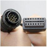 MERCEDES diagnosztika OBD 14 PIN átalakító kábel