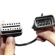 Opel, op-com, OBD-10 pin átalakító