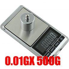 Digitális Ékszermérleg Ékszer Mérleg 500g x 0,01g