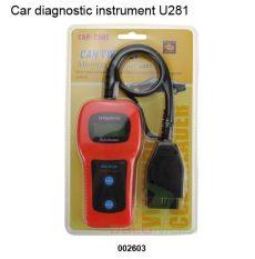 U281 OBDII OBD2 VAG COM CAN AUTÓ DIAGNOSZTIKA!  Volkswagen / Audi / Seat / Skoda