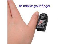 Mini hd 720p - 1080p micro kamera mozgás detektoros videó mozgásra