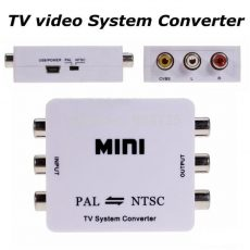 Pal ntsc vagy ntsc pal átalakító konverter adapter mini box