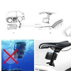 Bicikli kerékpár riasztó távirányítós