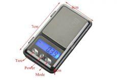 Mini Digitális Ékszermérleg Ékszer Mérleg 100g x 0,01g