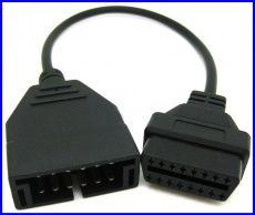OBDII GM ALDL 12 Pin átalakító 16 pin re obd2 Daewoo