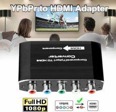 RGB YPbPr hdmi átalakitó adapter konvertel