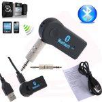 Bluetooth vevő audio átjátszó audio adapter 3,5 aux Receiver + mikrofon