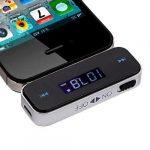 MP3 FM Transmitter 3,5 mm bármihez jó telefon laptop iphone ipad