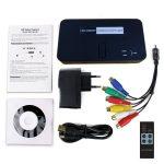 Ezcap284 1080P HD videojáték digitalizáló HDMI / AV / Ypbpr Rec W / Voiceover támogatás U Lemez / SD / MIC Xbox360 / One PS3 / 4