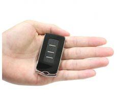 Digitális mini mikro ékszer mérleg kulcstartó 2db