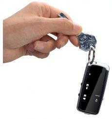 Kulcstartó kamera és diktafon 720P kémkamera
