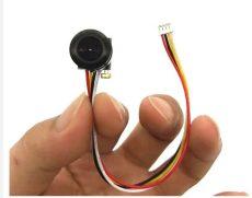 Mini mikro FPV cctv kamera rc dron + hang PAL 1200TVL