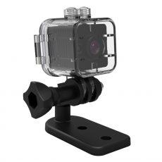 Mini hd 1080p sd kártyás sport kamera  vízálló tokkal mozgásdetektoros