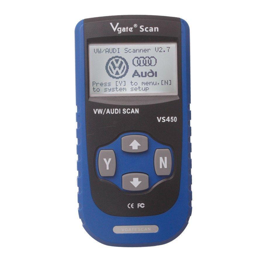 Vgate VS450 VW AUDI Seat Skoda diagnosztika hibakódolvasó