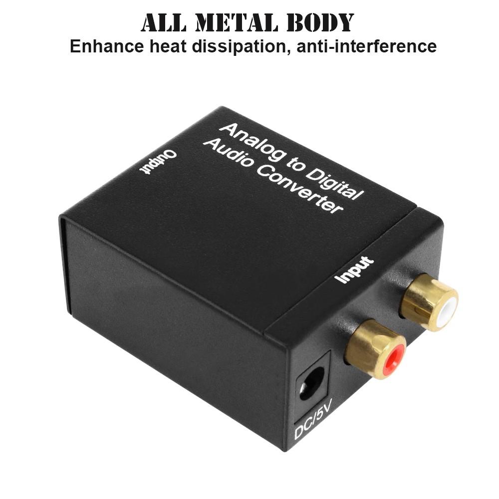Analóg audio  digitális jel konverter átalakitó adapter