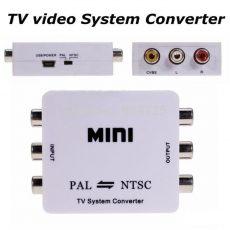 Pal ntsc vagy ntsc pal átalakító konverter adapter mini box