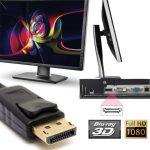 DP Displayport HDMI átalakító adapter konverter  HP DELL