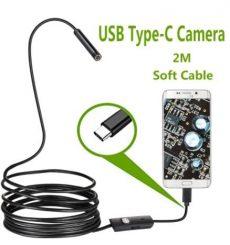 Mini vezetékes kamera telefonhoz android endoszkóp usb C