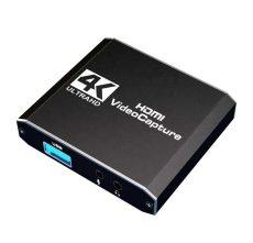 Hdmi usb adapter átalakitó digitalizáló konverter +mikrofon fejhallgató bemenet 4K
