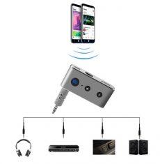 Bluetooth audió vevő aux készülék fém ház sztereó sd kártyás  4.2